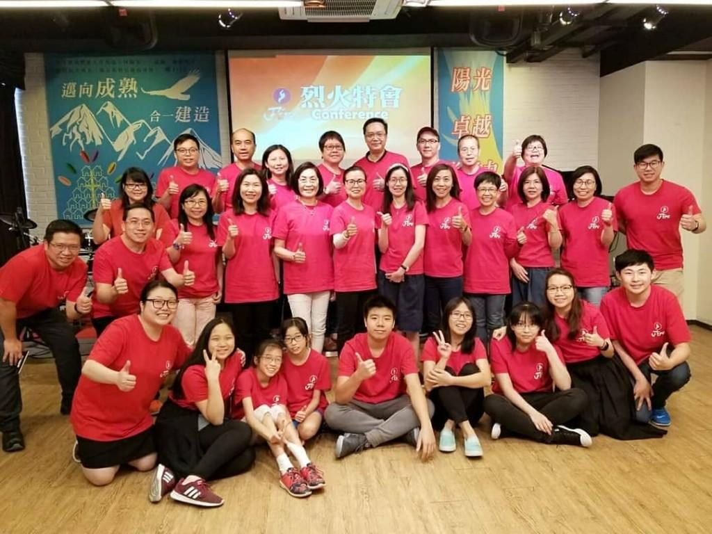 烈火團隊重聚,真情分享,見證改變,激勵突破,委身教會,哈利路亞!